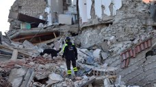 'We're One Big Family': Locals Mourn Italy Quake Victims<br...