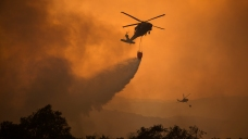 New Evacuations as Huge Southern California Fire Flares Up