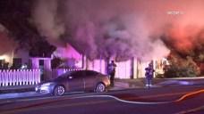 Neighbors Battle Oceanside Garage Fire