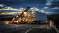 Interstate 5 Traffic Delayed by Crash of Oranges Truck