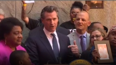 California Governor Signs Law to Limit Shootings by Police