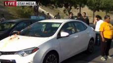 Protester Arrested at Otay Mesa Detention Center
