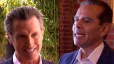 Newsom and Villaraigosa Make Plays For San Diego Voters