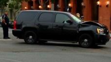 Collision Involving SDPD SUV Closes Intersection