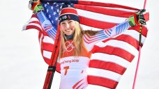 Shiffrin Gets Silver in Alpine Combined, Vonn Skis Out