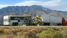 13 Killed, 31 Injured in Tour Bus Crash in California
