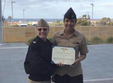 Vigil Held for Navy Corpsman Gunned Down at Her Apartment Complex