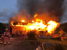 2 Displaced, 1 Unaccounted for in Ramona House Fire