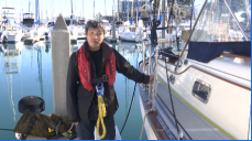 Blind Man Set To Sail Boat From San Diego To Japan