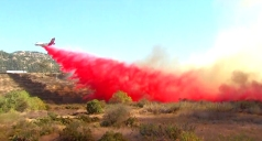 San Diego to Be on Fire Weather Warning Sunday