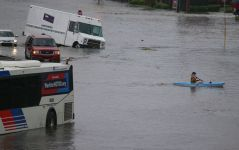 2 Dead as Imelda Strands Drivers, Floods Homes in Texas