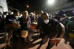 Photos: Mexico Hit by Powerful Quake for 2nd Time in 2 Weeks