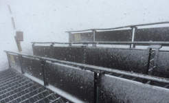Snow in California: Mammoth Mountain Reports Snowfall