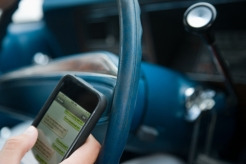 DUR: Texting While Driving is Illegal