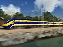 Plan for State's Bullet Train Released