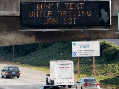 Texting Ban Takes Backseat for Some Motorists: Study