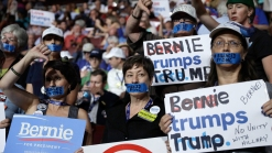 San Diego Delegates at DNC React to Split Party Support