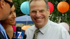 Mayor Filner Avoids Questions
