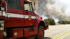San Diego's Fire Threat Increased in Dry, Windy Conditions