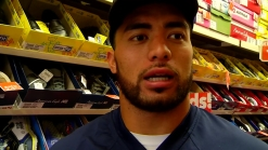 Watch: Chargers Players Shop for Shoes with Local Kids
