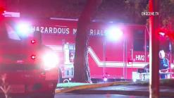 Chemical Reaction in Sorrento Valley Business Fire