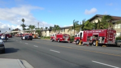 2 Injured in Apartment Fire Sparked by 'Massive Explosion'