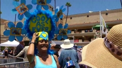Del Mar Hat: Windmills and Lucy