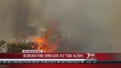 Firefighters Head Into 3rd Day Fighting Border Fire