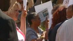 San Diegans Rally in Support of Filner