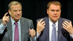 Filner, DeMaio Discuss Military Cuts