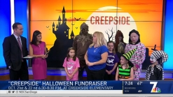 Creekside Elementary's Haunted Walking Path