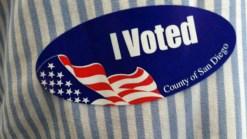 San Diego Mayoral Candidates Vote