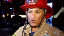Fire Displaces 4 in Valencia Park