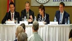 'Big Four' Discuss Pension Reform Measure