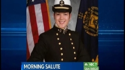 Salute to Naval Academy Senior Andrea Stoke