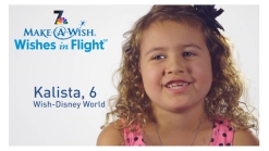 Wishes In Flight 2014: Meet Kalista, San Diego Wish Ambassador