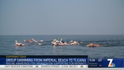 International Swim Raises Awareness of Migrants Entering US