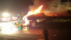 Fire Destroys La Mesa Liquor Store