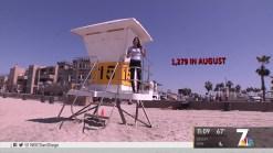 San Diego Lifeguards Mark Record Summer