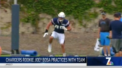 MJ's Minute: Chargers DE Joey Bosa's First Practice in Full Pads