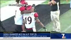 MJ's Minute- Aztecs Football Ranked in AP Top 25