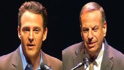 2 Candidates Spar at Mayoral Debate