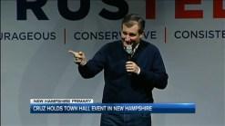 In N.H., Cruz Hits Back at 'Trumpertantrum' Over Iowa Vote