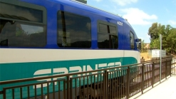 Sprinter Train Service Resumes in North County
