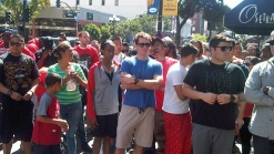 Dozens Line Up for Rare Sneakers