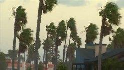 Santa Ana Winds Blow Through Southern California