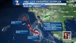 Dolores Brings Muggy Weather to San Diego