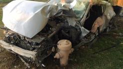 Driver Crashes Car Through 3 Fences