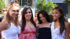 Bikini Worshippers Flock Downtown