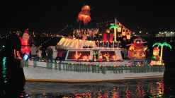 Boats Shine at Bay Parade of Lights